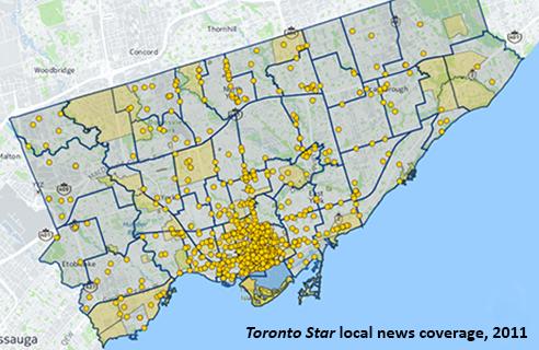 Toronto Star map